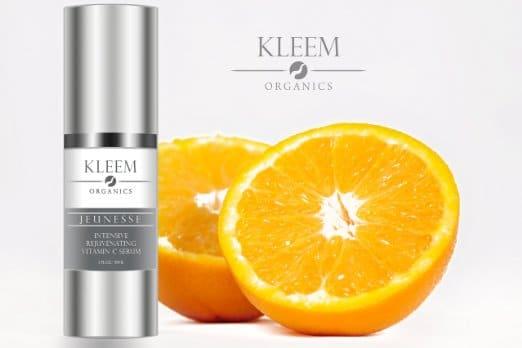 Serum Kleem Organics con Ácido Hialurónico