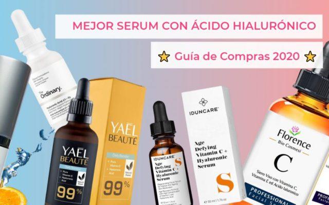 Mejor serum de ácido hialurónico y vitamina C